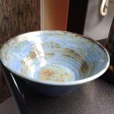 Fuente de cerámica gres