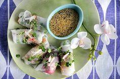 Resepti: Vietnamilaiset riisipaperirullat ja dippi