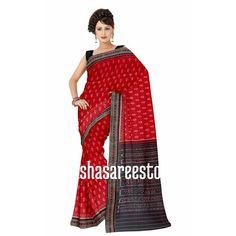 Maniabandha - Famous For IKAT Designs: Traditional Design Bandha Cotton Saree