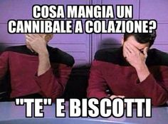Funny Images, Funny Photos, Haha Funny, Hilarious, Star Trek Meme, Italian Memes, British Humor, Good Humor, Funny Messages