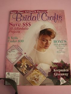 BRIDAL CRAFTS, Crafts Magazine by Crafts 'n Things, Fall 1998