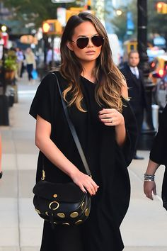 Tigers Eye:Chrissy Teigen (Photo by Raymond Hall/GC Images) via @AOL_Lifestyle Read more: https://www.aol.com/article/lifestyle/2016/12/23/biggest-hair-color-trends-2017/21641196/?a_dgi=aolshare_pinterest#slide=4320905