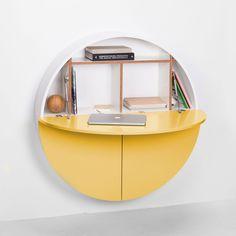 Pill Cabinet - Yellow/White | EMKO