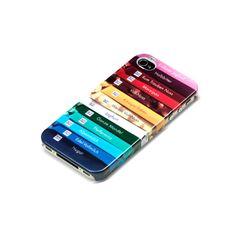 RITTER SPORT iPhone 4 Hülle Tafelstapel