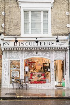 From Paris to London — (via Pep-Start: A Biscuit Icing Challenge with. Shop Fronts, Lovely Shop, Architectural Features, Places To Go, Beautiful Places, Around The Worlds, France, Exterior, Fiction