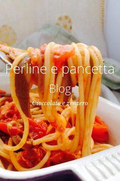 Spaghetti con melanzane perlina pomodoro e pancetta Buongiorno, eccomi con una nuova ricetta, andando al mercato ho scoperto questa delizia, le melanzane perlina, le conoscete ? Sono davvero ottime, purtroppo non sempre si trovano, arrivano dalla Sicilia e anche dalla Puglia. La melanzana perlina è sul mercato già da un po' di tempo, non è frutto … http://blog.giallozafferano.it/gabriellalomazz/spaghetti-con-melanzane-perlina-pomodoro-e-pancetta/