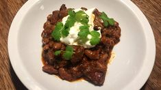 Chili con carne Frisk, Chipotle, Stew, Meat, Food, Casseroles, Cilantro, Casserole Dishes, Casserole