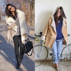 street style abrigo piel vuelta Duster Coat, Chic, Blazers, Jackets, Coats, Style, Fashion, Fur Coats, Seasons