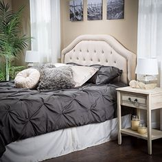 Celina Queen to Full Sized Beige Headboard >>> You can find out more details at the link of the image.
