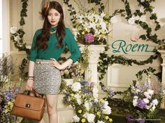 miss A's Suzy for Roem's Fall 2013 ad campaign
