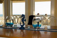 Beach Themed Wedding Food Table Decor