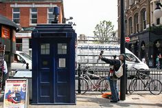 Places to spot the TARDIS in London, including outside Earl's Cross Station