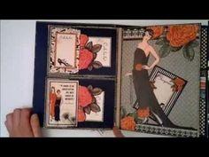 ▶ Graphic 45 Couture mini album - YouTube