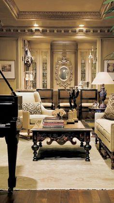 The Billionaire retreat - Fancy but Elegant Living - #Luxurydotcom