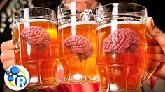 Estas son las reacciones químicas que tienen lugar en el cerebro cuando bebemos