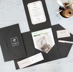Premium Client Welcome Folders – Design Aglow Font Styles Names, Online Fonts, Welcome Card, Referral Cards, Folder Design, Presentation Folder, Card Sizes, Design Elements, Wedding Cards