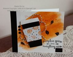 Stampin' & Scrappin' with Stasia: Pumpkin Spice - Coffee - Some SU - Gorgeous Grunge,  Among the Branches, Unity sentiment
