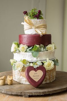 Image result for decorating cheese wedding cakes