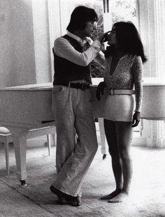 John Lennon and Yoko Ono-Lennon