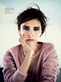 Victoria Beckham for Vogue Australia September 2013 | HauteTalk.com