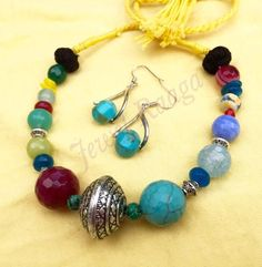 New Design of Necklaces by Jewel Raaga. Complete Collection Available at: http://www.indiebazaar.com/shop/jewelraaga?sort=mr