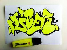 ziber neon sketch