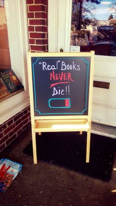 """""""Real"""" Books Never Die!!"""
