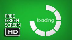 Free Green Screen - Holographic Loading Circle Free Green Screen, Holographic, Tips, Kunst, Counseling