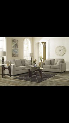 Living room with my couch - alena Quartz