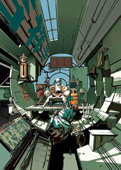 A arte fantasticamente surreal de Koji Morimoto | Blog MIL