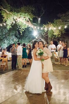 Bride and BFF
