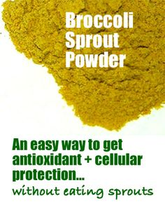 Organic Broccoli Sprout Powder Pros & Cons, Where to Buy It  You may like broccoli, but you might get tired of eating it everyday. Same with fresh broccoli sprouts. They also go bad if not eaten quickly, usually in under a week.   In my experience, this can become a hassle if you don't ...