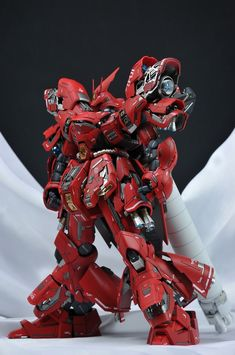 "Custom Build: MG 1/100 MSN-04 Sazabi Ver. Ka ""Detailed"" - Gundam Kits Collection News and Reviews"
