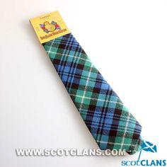 Clan Lamont Tartan Tie