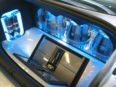 VW custom car stereo install Gallery - Cars - Sound Advice plexi down firing