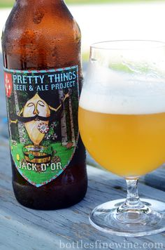 Pretty Things Beer and Ale Project: Jack D'or. Click through to watch the brewery tour.