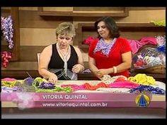 Eu que Fiz - Vovó Baisa: Vitória Quintal ensina o ponto segredo - crochê - ...