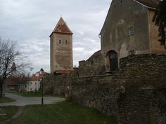 Ruins of Kőszeg castle,Hungary, site of the Siege of Güns in 1532