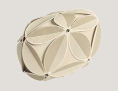 Ivy 3D printed clutch by Odo Fioravanti for Maison 203 » Retail Design Blog