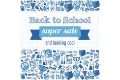 Doodle back to school poster @creativework247