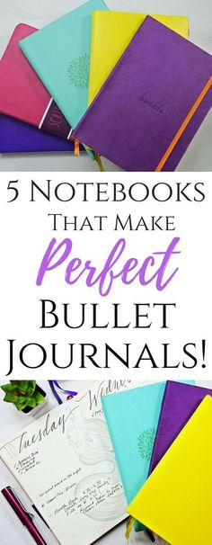 Fantastic Notebooks that make the perfect Bullet Journal! Dotted Bullet Journal, Bullet Journal For Beginners, Bullet Journal How To Start A, Bullet Journal Junkies, Bullet Journals, Bujo, Filofax, Planners, Bullet Journal Inspiration