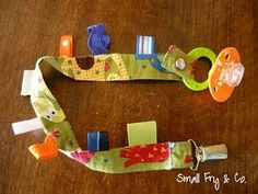 baby taggie toy strap