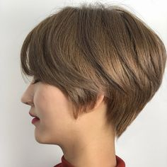 Short Hairstyles For Women, Girl Hairstyles, Asian Short Hair, Short Cuts, Perm, Pixie Cut, Short Hair Styles, Hair Cuts, Hair Beauty