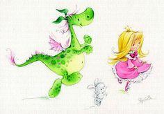 Коллекция картинок: Девочки и феечки художника-иллюстратора Марины Федотовой