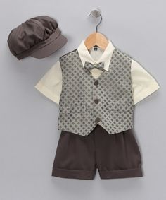 I can picture Joey in this outfit for his bday pictures
