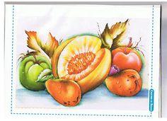 Art'sanália: Riscos de frutas para pintar!