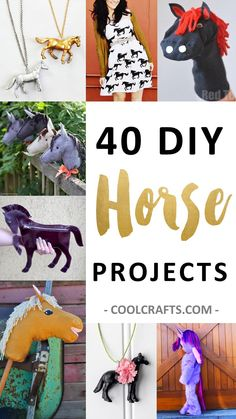 40 DIY Horse Craft Ideas to Inspire your Creativity                                                                                                                                                      More