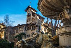 Foto architettura Liberty in Italia | scopri altri villini Art Nouveau sul portale www.italialiberty.it