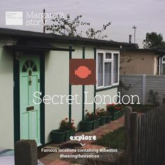 Secret London series: Made up of 186 prefab bungalows, the Excalibur Estate was hurriedly built as a temporary measure in 1946 to address the acute housing shortage following the Second World War. The bungalows were riddled with asbestos and still had residents living in them more than 65 years after they were built. #hearingtheirvoices #asbestos #asbestosawareness #housing #London #SecretLondon #bungalows #mesothelioma