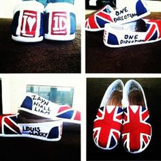 #OneDirection shoes are perfect for school